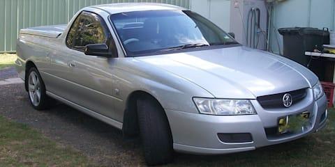 2005 Holden Commodore Storm Ute
