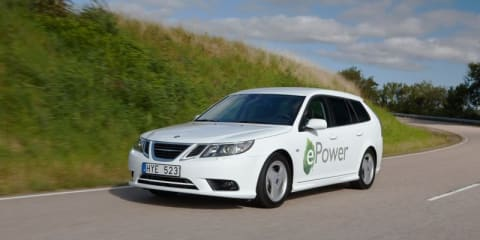 Saab 9-3 ePower EV to debut at 2010 Paris Motor Show