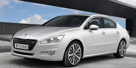 2011 Peugeot 508 on sale in Australia in July