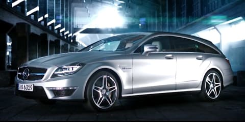 Mercedes-Benz CLS63 AMG Shooting Brake teaser video