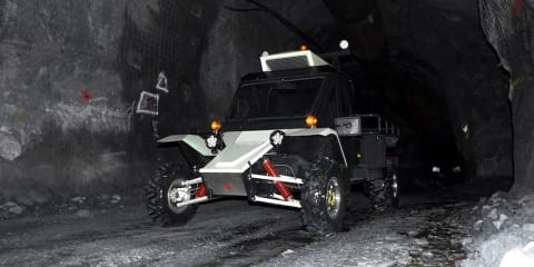 Tomcar unveils LV1, an all-terrain EV for Australia's mines