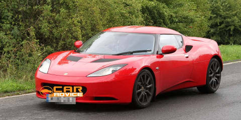 Lotus Evora S Spy Photos