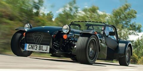 Caterham Seven 485 becomes brand's fastest ever in Australia