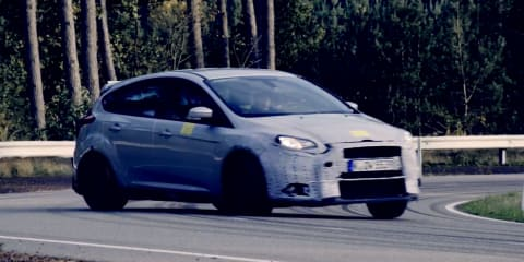 Ford Focus RS teased, will be revealed February 4