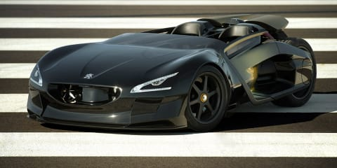 Peugeot EX1 concept sets electric speed records