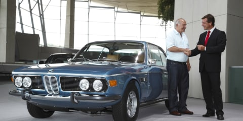 BMW Classic Customer Workshop completes its first restoration