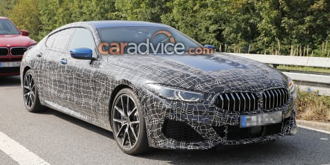 2019 BMW 8 Series Gran Coupe spied
