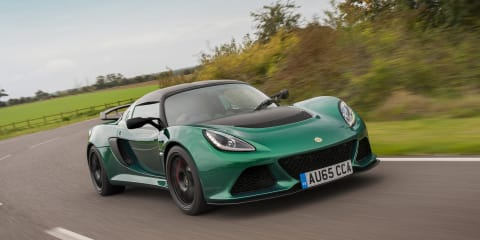 Lotus Exige Sport 350 revealed: Plaid seats, exposed shifter, 51kg weight loss, 0-100km/h in 3.8s