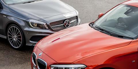 2015 BMW 125i v Mercedes-Benz A250 Comparison Review