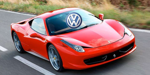 Volkswagen Group to buy Ferrari shares?