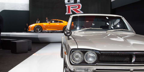 Nissan GT-R and Skyline GT-R:: Six generations on display in New York