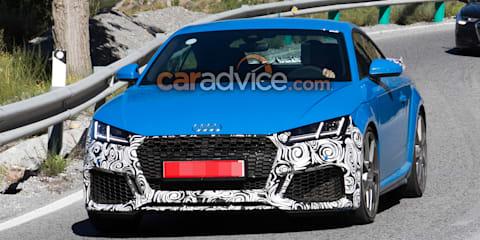 2019 Audi TT RS spied