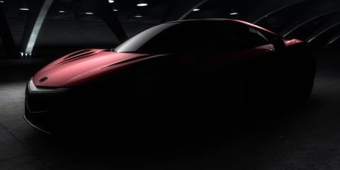 Honda NSX: production version teased prior to Detroit unveiling