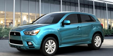 2010 Mitsubishi RVR Compact Crossover official photos