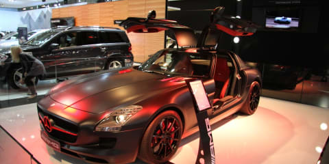 Mercedes-Benz SLS AMG at 2010 AIMS