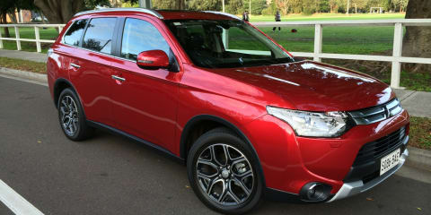 Mitsubishi Outlander MY14.5 Review: Aspire diesel AWD