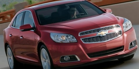 2012 Holden Malibu revealed in leaked Chevrolet image