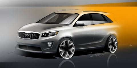 2015 Kia Sorento renderings revealed