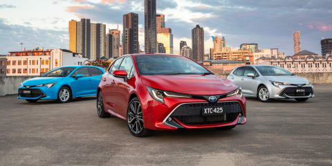 2019 Toyota Corolla pricing and specs