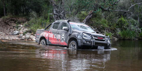 Isuzu I-Venture Club tackles the Victorian High Country