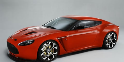 Video: Aston Martin V12 Zagato start-up
