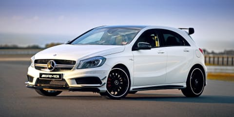 Mercedes-Benz whittles back A45 AMG and CLA45 AMG waiting lists to end of 2015