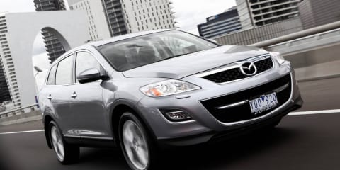 2011 Mazda CX-9 front-wheel drive on sale in Australia in July