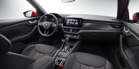 2020 Skoda Kamiq interior revealed