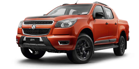 Holden Colorado Z71 revealed