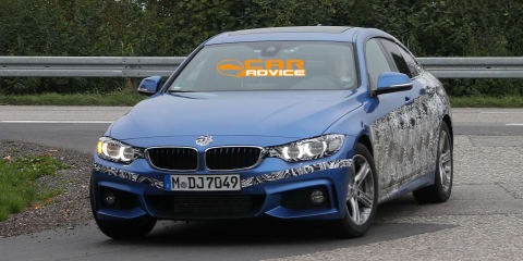BMW 4 Series Gran Coupe: four-door spied with M Sport pack