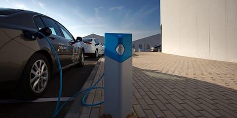 EV charging network Australia-wide beginning late 2012