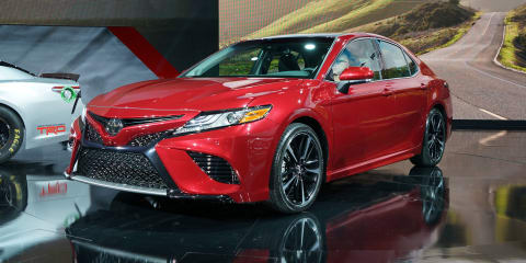 2018 Toyota Camry revealed: Japan-built sedan in Australia from late 2017