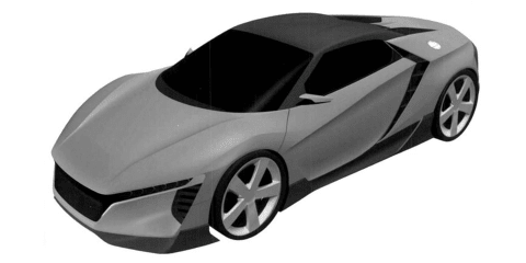 "Honda working on ""baby NSX"" according to patents, American CEO - reports"