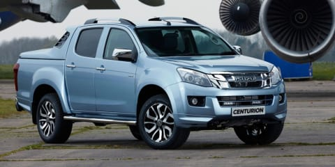 Isuzu D-MAX Centurion celebrates 100 years as an automaker - UPDATE