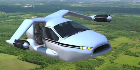 Terrafugia TF-X: plug-in hybrid flying car under development