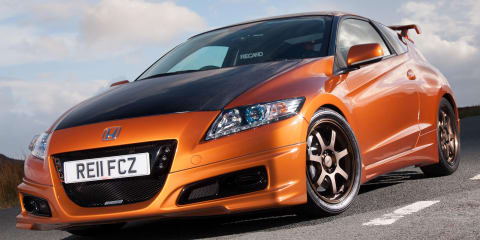 Mugen Honda CR-Z revealed