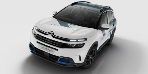 Citroen C5 Aircross PHEV concept revealed