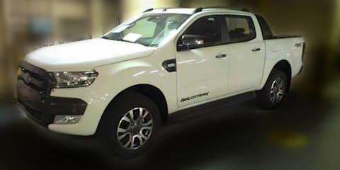 2015 Ford Ranger Wildtrak exterior and interior spied undisguised