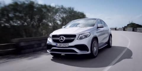 Mercedes-AMG GLE 63 Coupe revealed