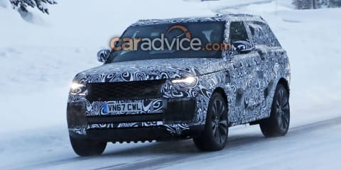 2019 Range Rover 'Coupe' spied