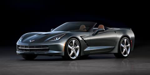 Chevrolet Corvette Stingray convertible revealed