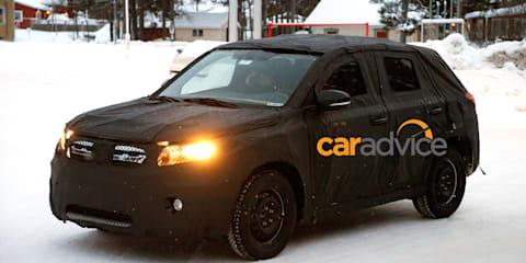 Suzuki SUV spy photos : new Suzuki Jimny?