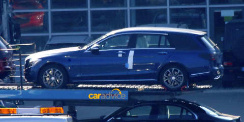 2015 Mercedes-Benz C-Class Estate spied