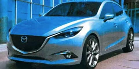 2013 Mazda3 renderings leaked