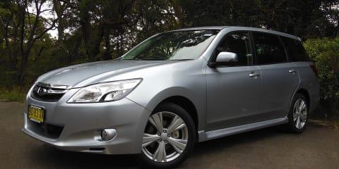 2012 Subaru Liberty EXIGA Premium Review