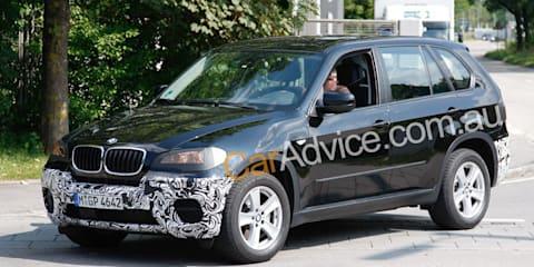 2010 BMW X5 spy pics