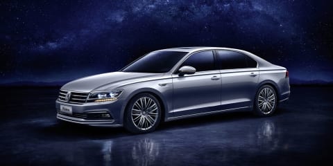 Volkswagen Phideon:: New China-only limousine revealed in Geneva