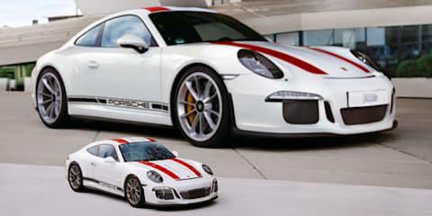 Porsche 911 R: 3D puzzle model revealed