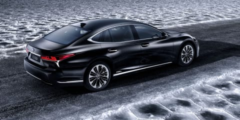 Lexus LS500h confirmed for Geneva