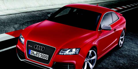 2010 Audi RS 5 now available in Australia